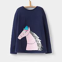 Кофта для девочки Сказочная лошадь Little Maven