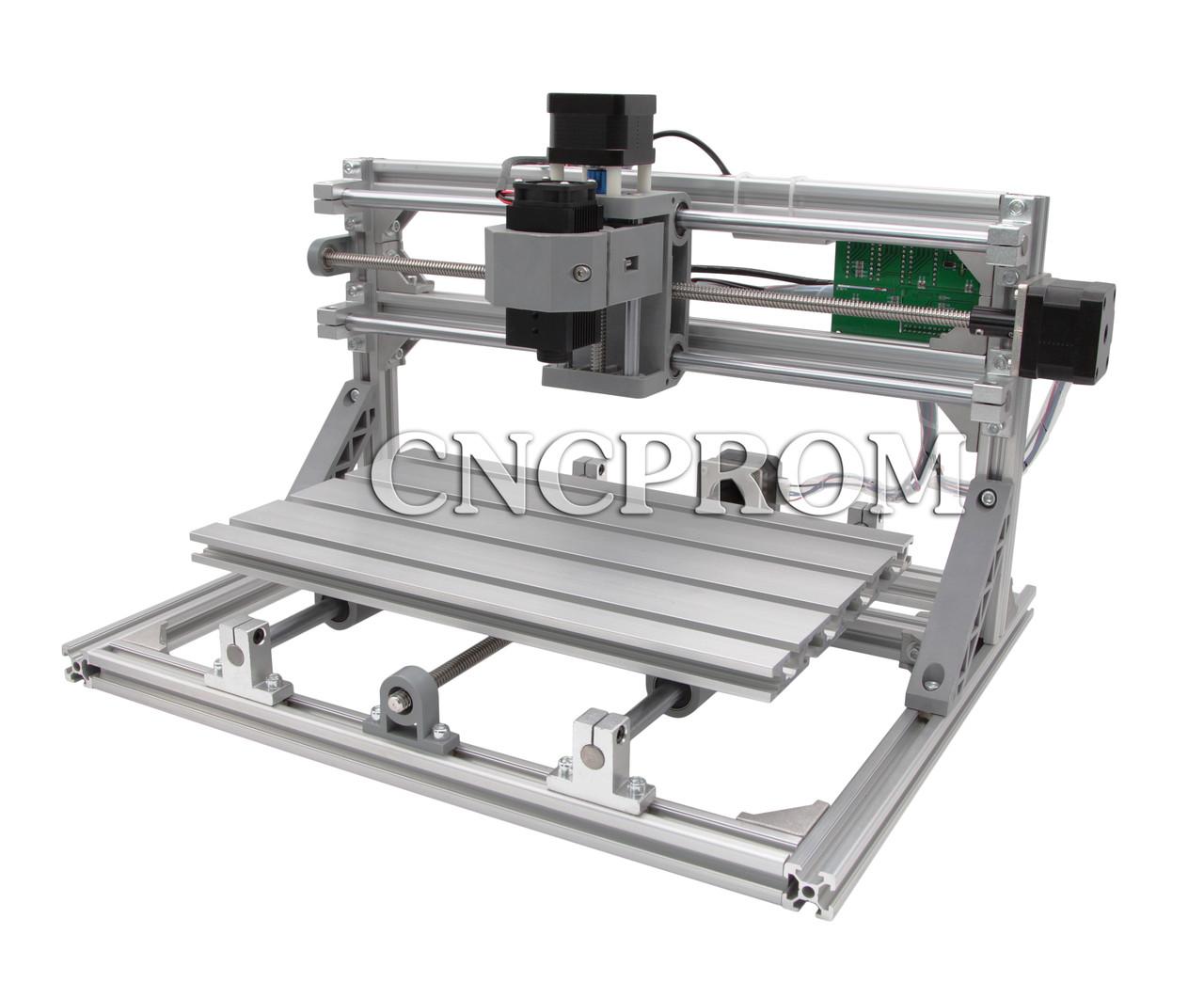 Лазерный фрезерно-гравировальный станок USB 3018 (лазер 5500mW + шпиндель 150W), 3 координаты