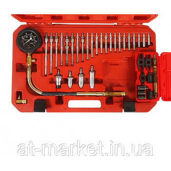 Компрессометр для дизельных двигателей 37ед. 4302 JTC
