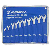Набор ключей комбинированных, 10 предметов ANDRMAX