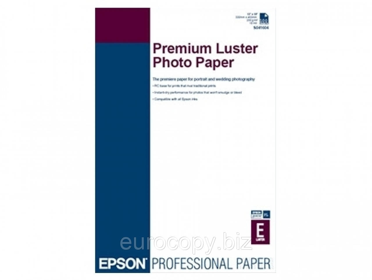 Фотопапір преміум А3, 100 л A3+ Premium Luster Photo Paper
