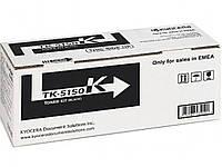 Туба с тонером Kyoсera Mita TK-5150K для ECOSYS P6035cdn/M6035cdn/M6535cdn 12000 копій Black (1T02NS0NL0)