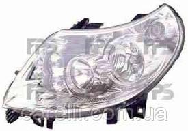 Фара передняя для Citroen Jumper '06- левая (MM) под электрокорректор