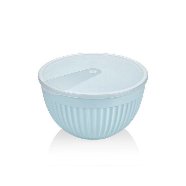 Салатник пластик BAGER BLUE 19.5 см (BG-445 B)