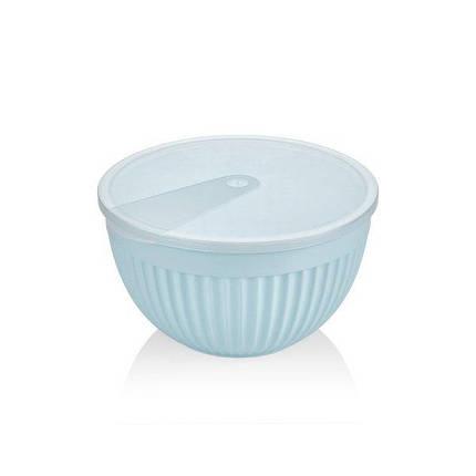 Салатник пластик BAGER BLUE 19.5 см (BG-445 B), фото 2