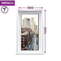Одностворчатое глухое окно Windom Eco