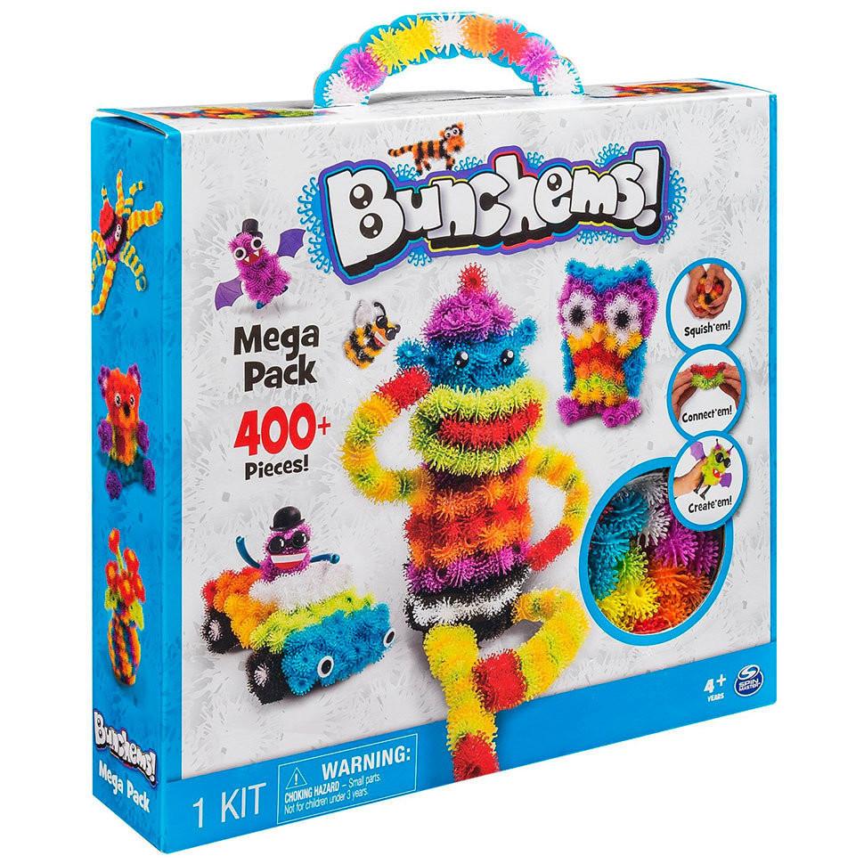 Конструкторы Bunchems | Детские конструкторы | Конструктор-липучка Bunchems Mega Pack 400 шт.