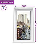Одностворчатое глухое окно Windom Deluxe