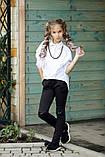 Школьная рубашка для девочки на рост от 134,140,146,152 (2 цвета), фото 3