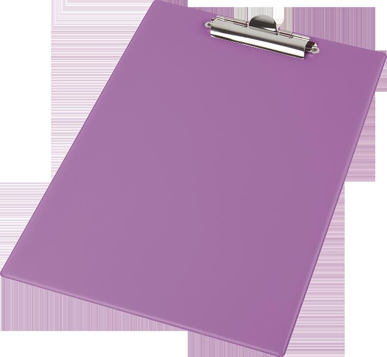 Клипбор Panta Plast А4 PVC фіолетовий