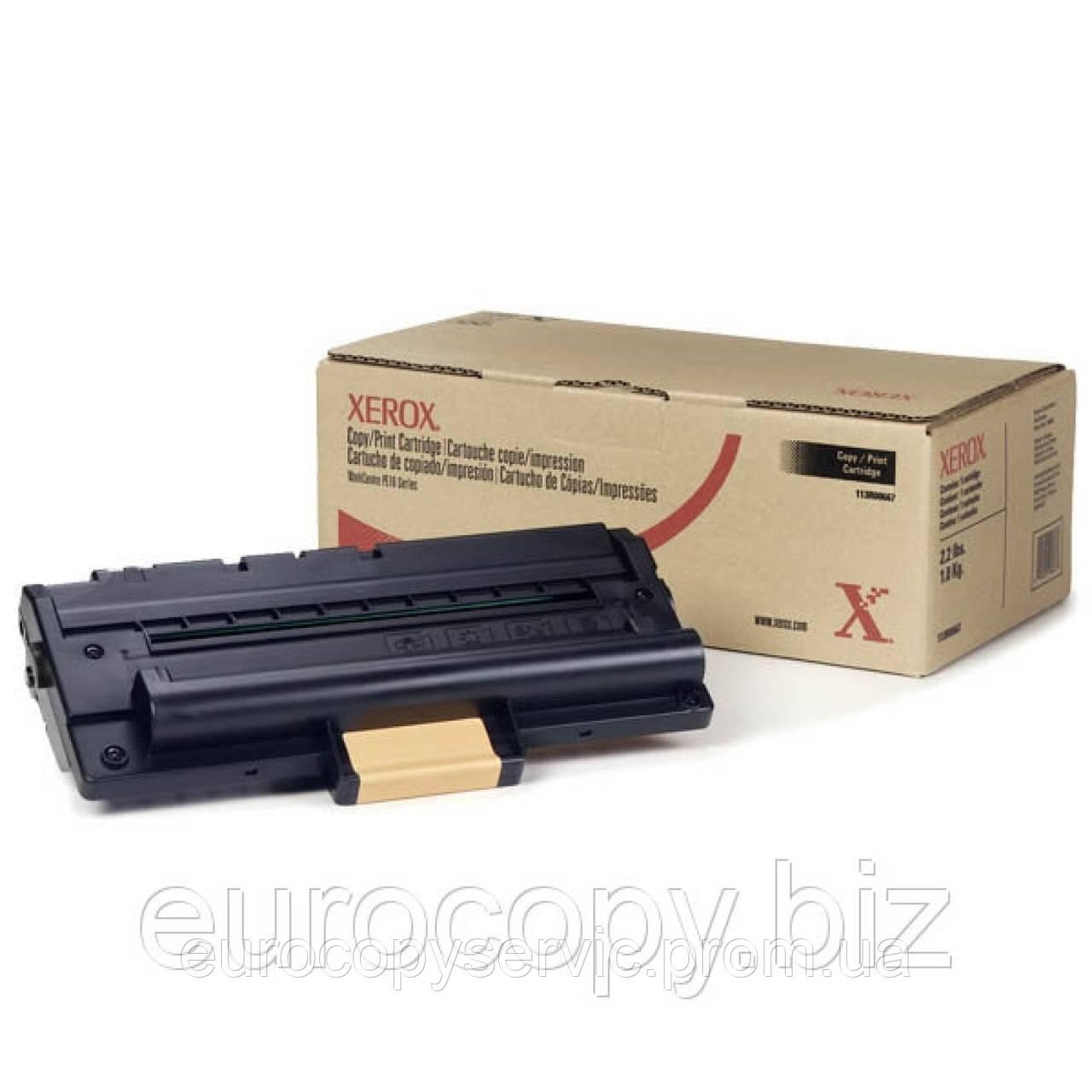 Тонер-картридж Xerox WC PE16/PE16e ресурс 3 500 стор. @ 5% (A4) (113R00667) Original