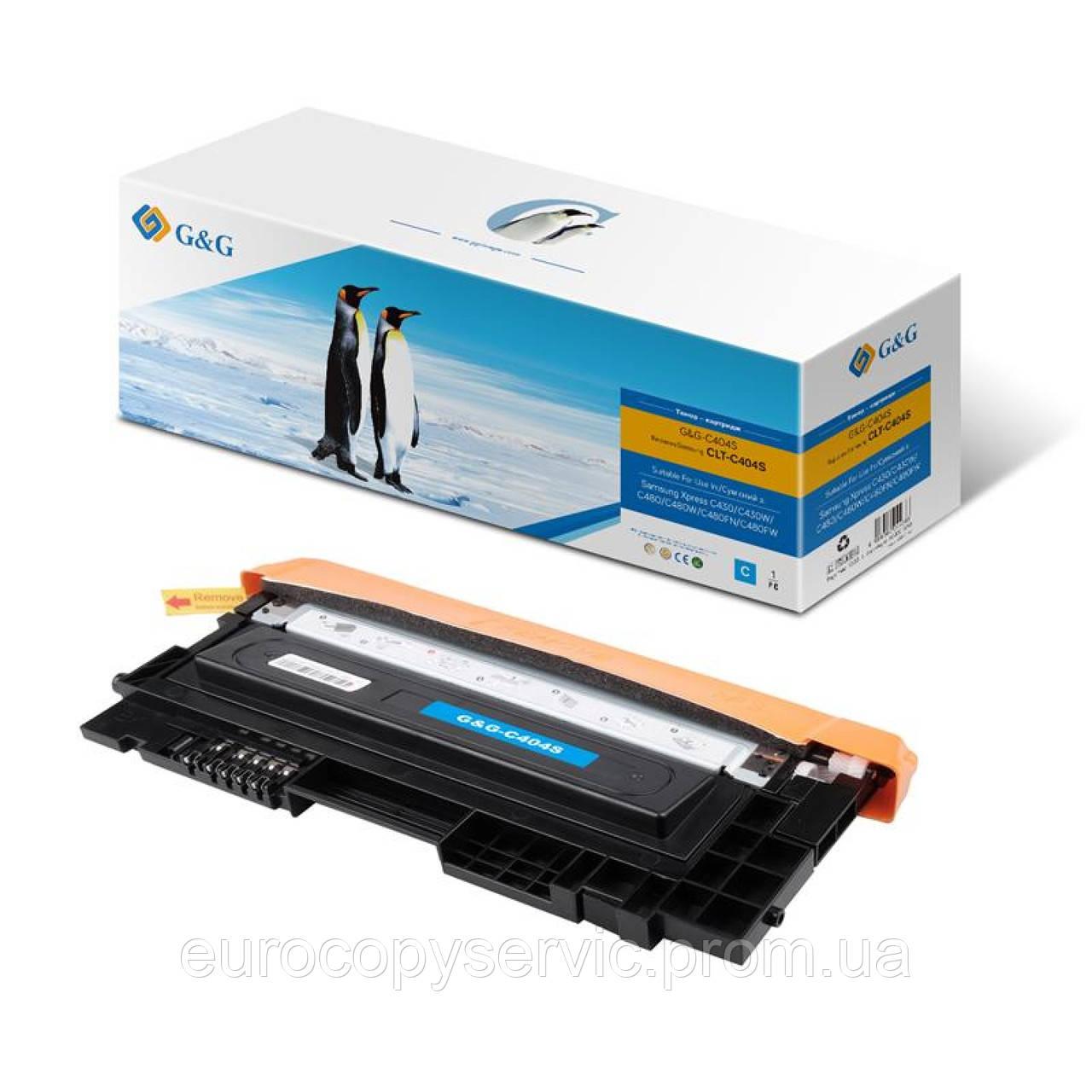 Картридж G&G для Samsung C430/C430W,C480/C480W/ C480FN Cyan