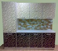 Фасады каленое стекло — Крашеные кухонные фасады — Фасады для кухни