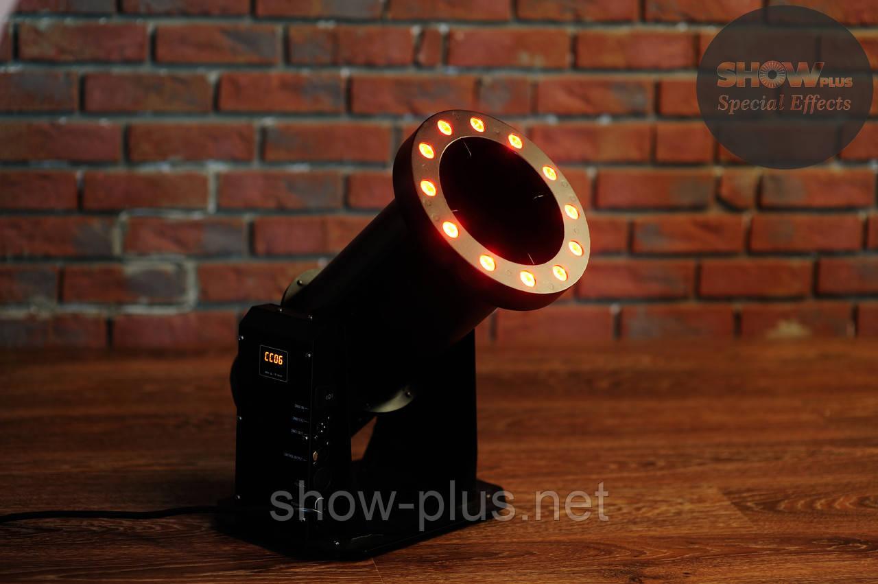 Конфетти машина SHOWplus CM-1500 LED - генератор конфетти с LED подсветкой, mini led confetti machine