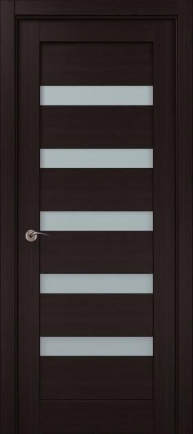 Дверное полотно 2000х610х40 Папа Карло Millenium ML-02 Венге