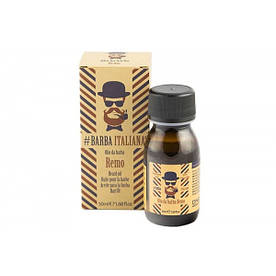 Barba Italiana Масло для бороды REMO 50 мл.