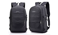 Рюкзак городской спортивный Dxyizu антивор, черный, фото 1