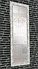 Зеркало настенное в раме Factura Textured silver 60х174 см серебро