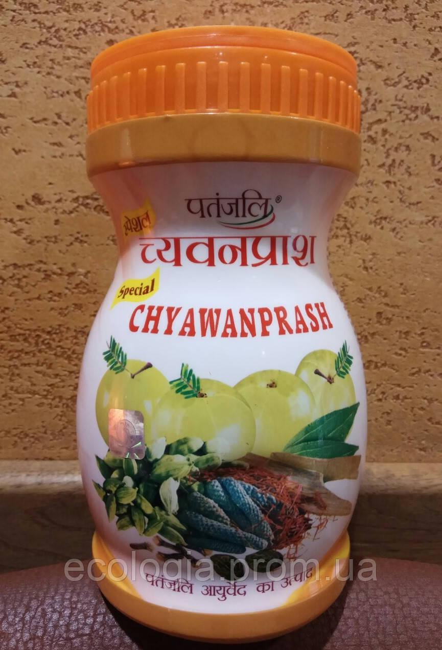 Чаванпраш с ШАФРАНОМ 1 кг Patanjali - мощное средство для укрепления иммунитета, восстановления сил, Индия