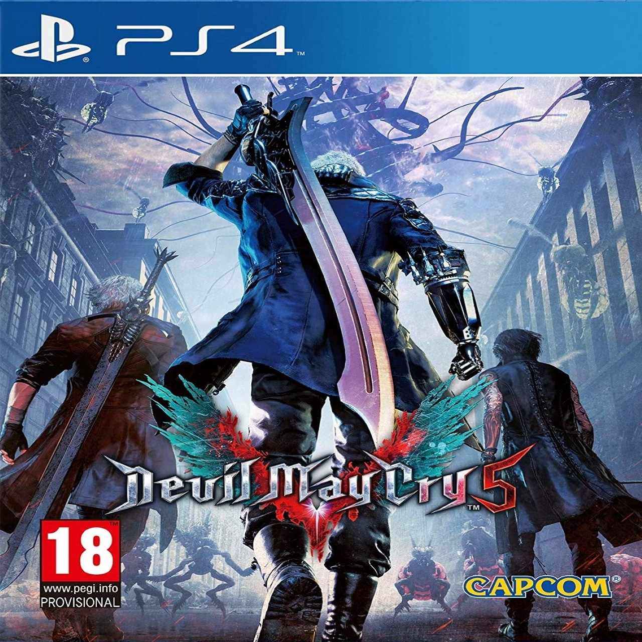 Devil May Cry 5 SUB PS4