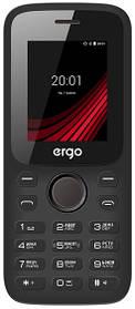 Мобильный телефон ERGO F182 Point Dual Sim Вlack Гарантия 12 месяцев