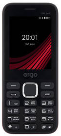 Мобильный телефон ERGO F243 Swift DS Black Гарантия 12 месяцев