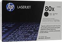 Тонер-картридж HP LaserJet 80X M425dn/M425dw/M401a/M401dn/M401dw ресурс ~ 6 900 стор@5% (A4) (CF280X) Original в упаковці OEM!