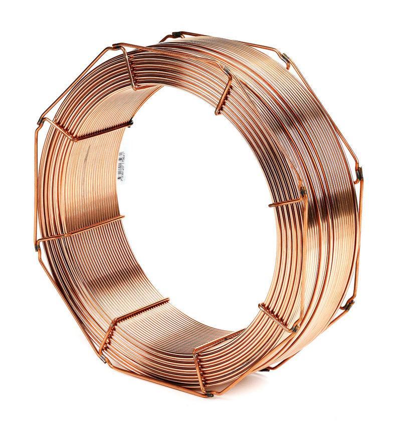 Провод сварочный омеднённый СВО8Г2С Ø1,6мм