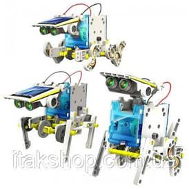 Робот конструктор 14 в 1 на солнечной батарее (Robot Solar)