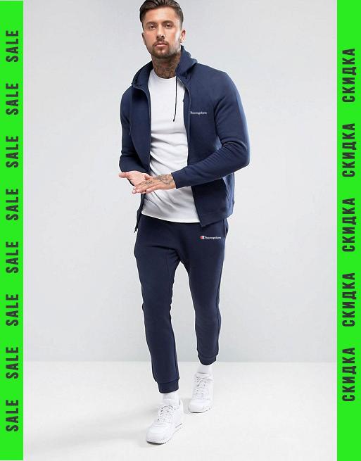 9a7d22bfde78e Спортивный тренировочный летний мужской костюм Champion (Чемпион) - Маркет  спортивной одежды IZISPORT в Днепре