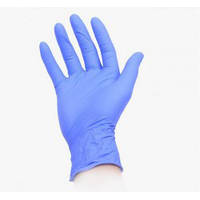 Перчатки нитриловые POLIX sky blue (100 шт.)