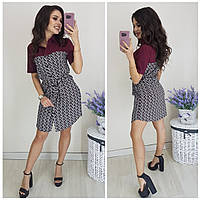 Платье - рубашка женское КБЕ156, фото 1