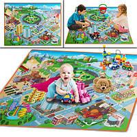 Детский игровой коврик Город, фото 1