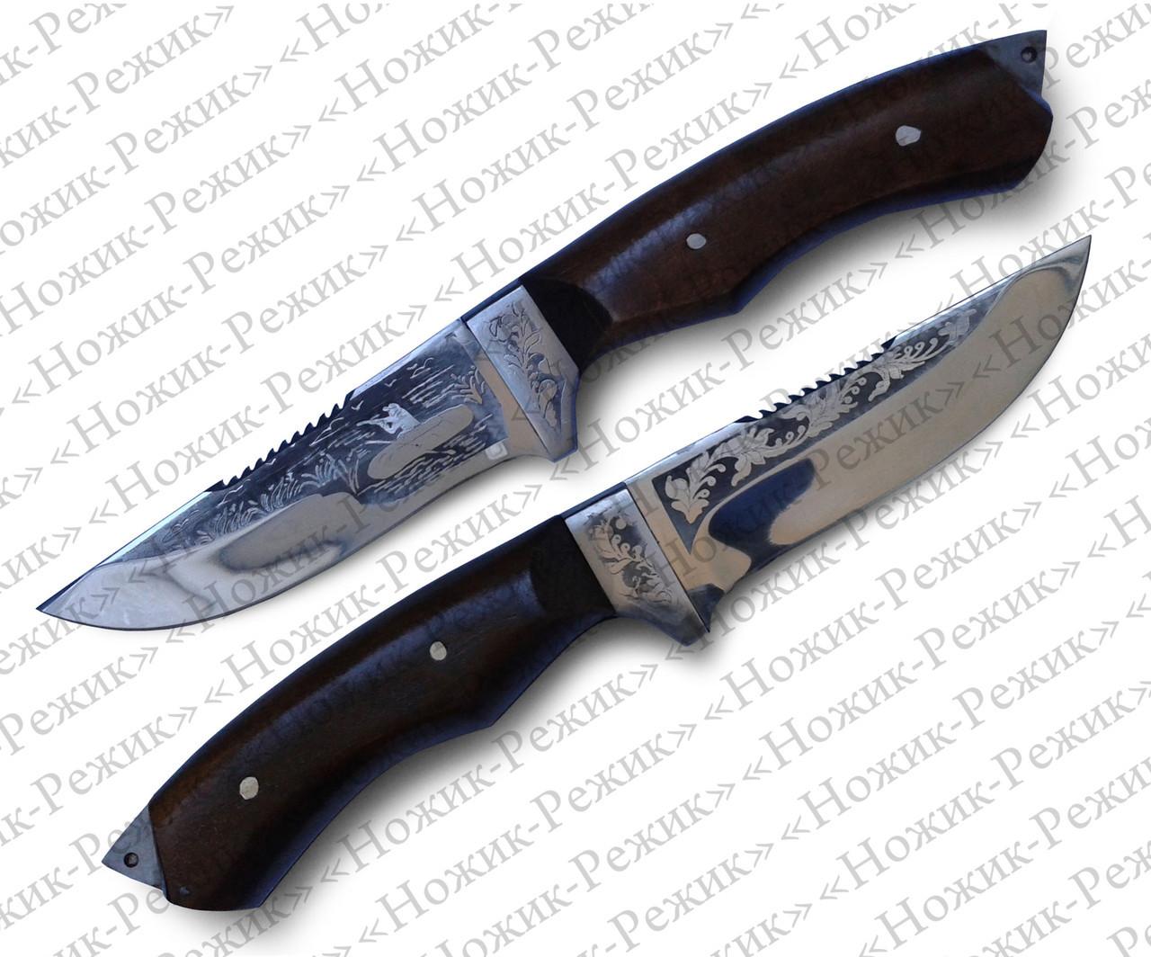 Нож для охоты и рыбалки, рыбацкий нож, нож туристический, нож АТО, нескладной нож