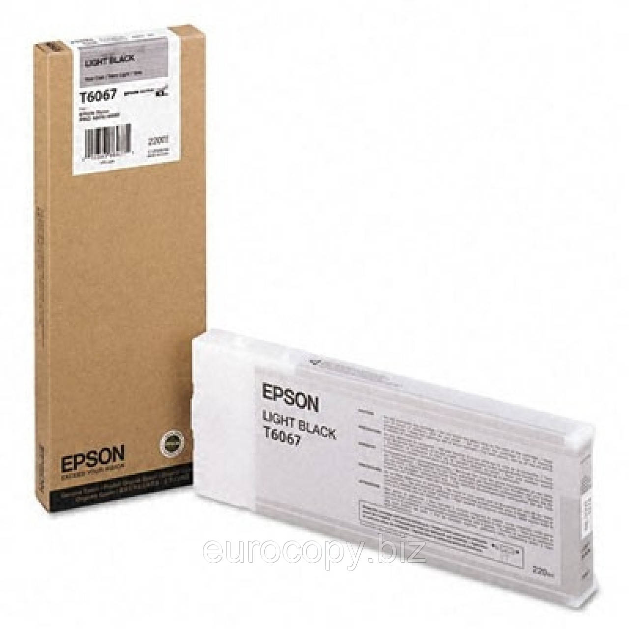 Картридж Epson StPro 4800 / 4880 light black 220мл (C13T606700)