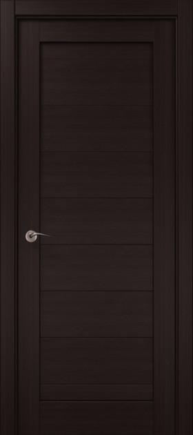 Дверное полотно 2000х610х40 Папа Карло Millenium ML-04 Венге