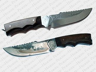 Нож для охоты и рыбалки, туристический нож, нож стальной, нож нескладной