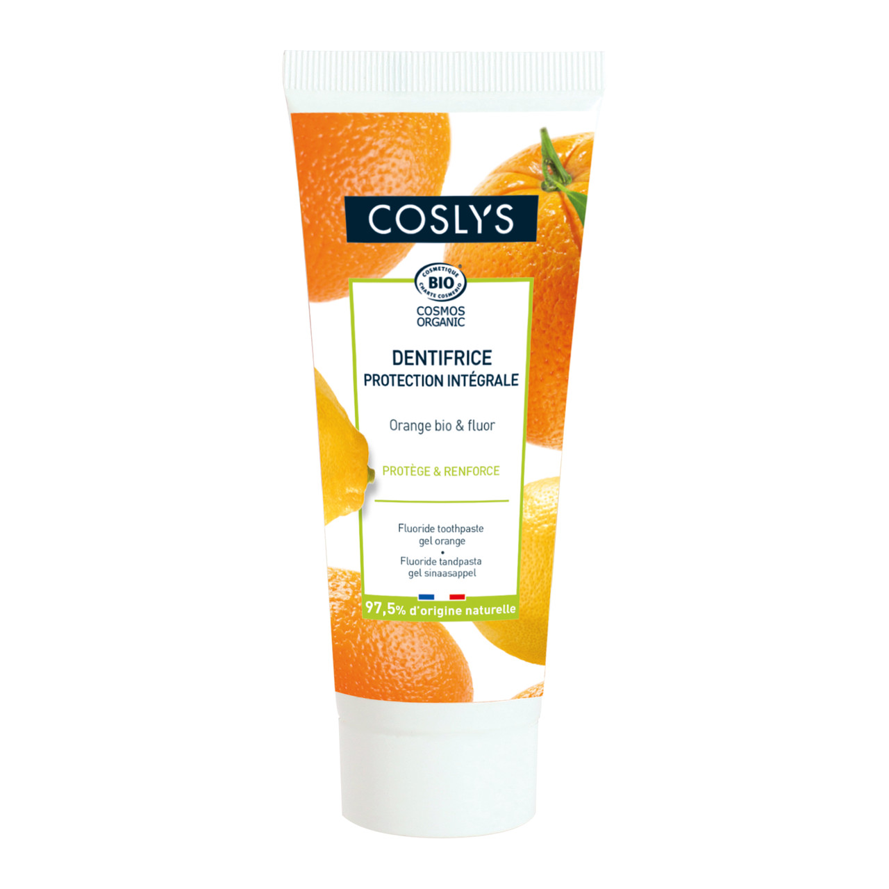 Гелевая зубная паста с ароматом апельсина Coslys,75 мл