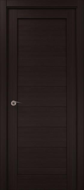 Дверное полотно 2000х710х40 Папа Карло Millenium ML-04 Венге