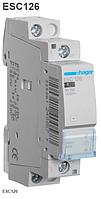 Контактор модульный ESC126 Hager 25А 230V 1 NC