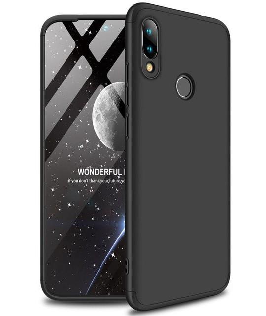 Чохол-360° LikGus для Xiaomi Redmi 7 Пластик Чорний (968266)