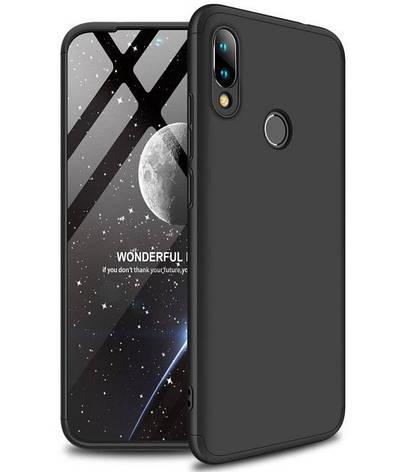 Чохол-360° LikGus для Xiaomi Redmi 7 Пластик Чорний (968266), фото 2