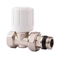 Прямой ручной вентиль простой регулировки 1/2 ICMA 954 (Италия)