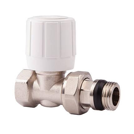 Прямой ручной вентиль простой регулировки 1/2 ICMA 954 (Италия), фото 2