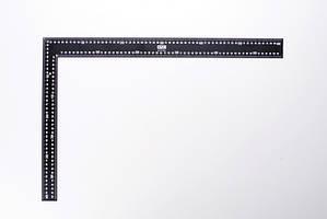 Угольник кровельщика 600*400мм (черный) СИЛА