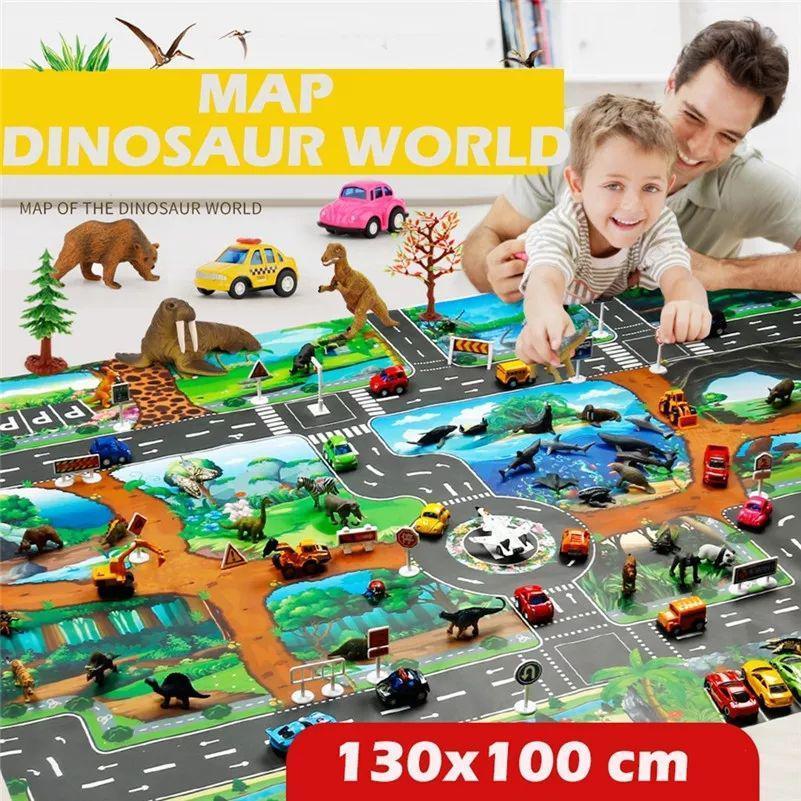 Детский игровой коврик Эра Динозавров