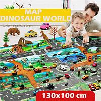 Детский игровой коврик Эра Динозавров, фото 1