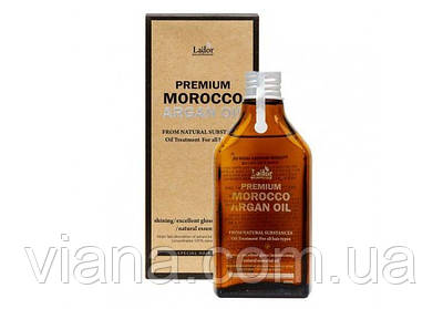 Премиум аргановое масло для волос La'dor Premium morocco argan oil 100% 100ml