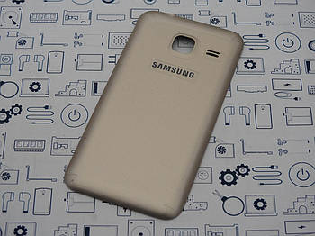 Задняя крышка Samsung Galaxy J1 mini Duos J105H золото Сервисный оригинал с разборки