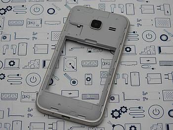 Средний корпус Samsung Galaxy J1 mini Duos J105H золото Сервисный оригинал с разборки